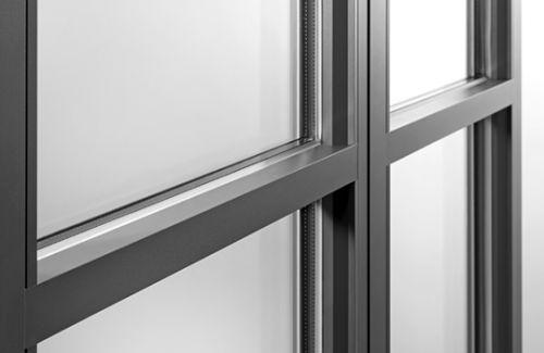vitrage et aluminium vus de près