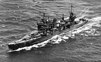 Navire américain durant la seconde guerre mondiale